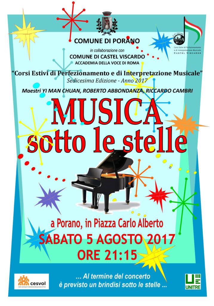MUSICA SOTTO LE STELLE