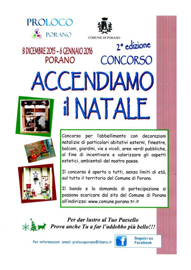 """CONCORSO """"ACCENDIAMO IL NATALE"""""""